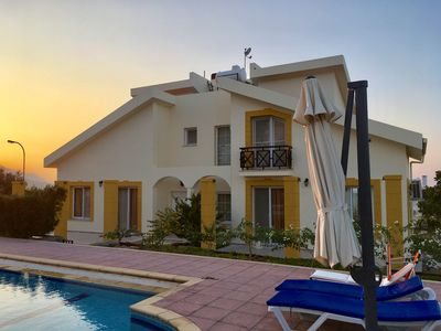 Photo for Sunset Villa W/ 3 Bedroom&Pool&Fireplace