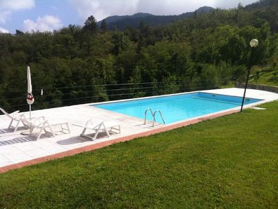 Photo for QUERCIA apartment and pool near Cinque Terre