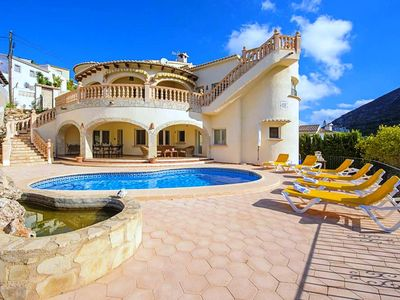 Photo for Saona Villas: Costa Blanca, Cumbre del Sol, villa 6 pers. with private pool