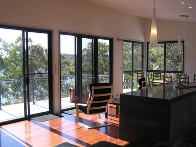 Photo for Grasstrees ~ a luxurious treat. Kayaks, Views, BBQ, Pet friendly, Relaxation !