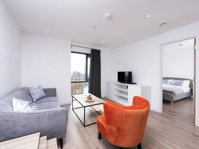 Photo for Beautiful one bedroom apartment by Broad Street - near ICC, BrindleyPlace and Birmingham Centre