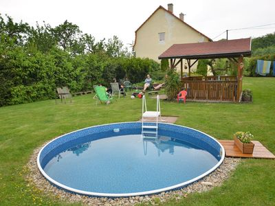Photo for Lovely holiday home with large garden and swimming pool in the green peace of St