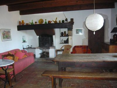 Photo for Old house, hamlet near Cèze (Goudargues)
