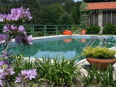 Photo for Cosy And Elegant Cottage W/ A Fantastic Pool ( Rural Location- Paredes De Cour