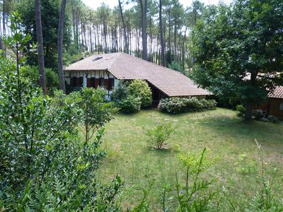Photo for House Landes 10/12 among pine trees, 10 minutes from the beach