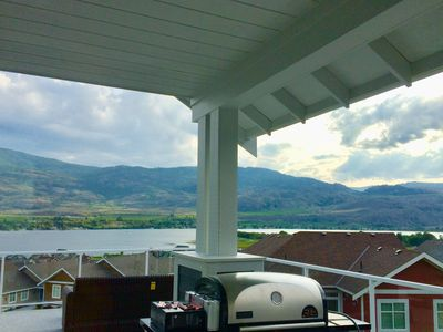 Photo for The Osoyoos Lake Breeze Cottage overlooking Osoyoos lake!