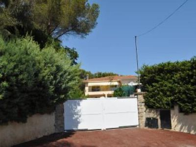Photo for appart T3, 55m2, swimming pool facade, with 25m2 terrace, pool and sea