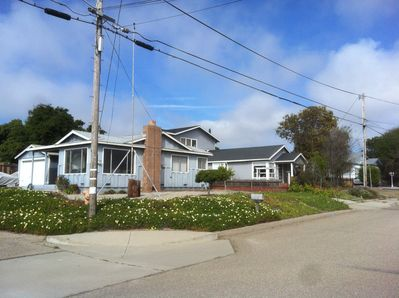 Enjoy your own full corner lot-and beautiful Central Coast clear blue skies!