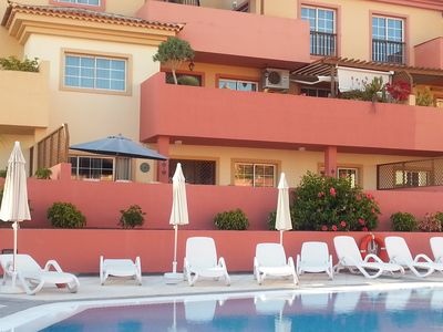 Photo for Close to the beach 'Playa del Duque' in well maintained complex with pool