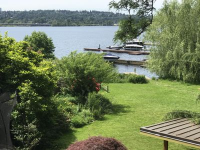 Photo for Beautiful 4 bedroom home on Lake Washington