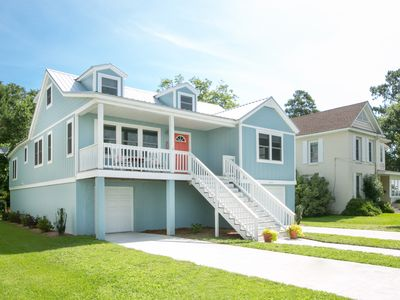Photo for Second Wind: Waterfront Home Downtown Belhaven near River Forest Manor & Marina