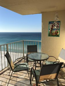 Photo for *FREE chairs and umbrella included with rental* Come enjoy the beautiful views!!