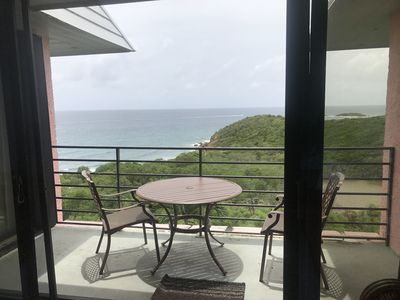 Photo for 1 Bedroom, 2 Bath Ocean View Overlooking Bolongo Bay Newly Renovated