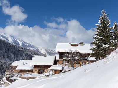 Photo for Luxurious and charming chalet in Meribel in 3 Valleys