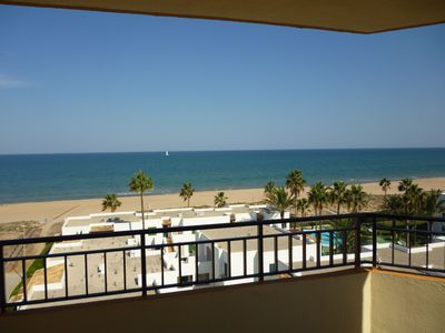 Photo for Amazing Top Floor Apartment with Fabulous Views of Xeraco Beach. WiFi included