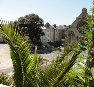 Photo for In the heart of Ventnor overlooking the town with views to the downs