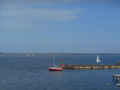 Photo for Marseillan waterside with sunny terrace. One August week left and two May weeks