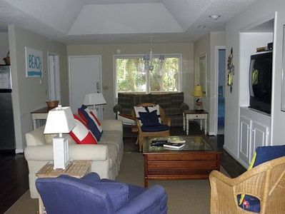 Photo for 3BR/2BA Less Than 500 Feet from the Beach!