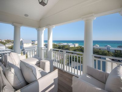 Photo for 23 E. Ruskin | 4 Bedroom Seaside Luxury with stunning Gulf Views & Private Pool! 2 min to beach and town center