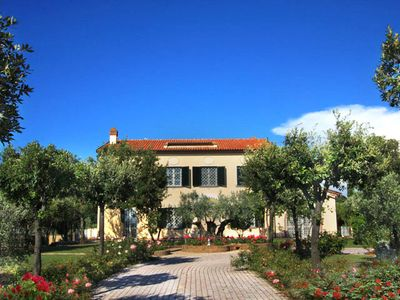 Photo for Luxury Villa On the Tuscan Coast, Beautiful Pool & Private Tennis, A/C