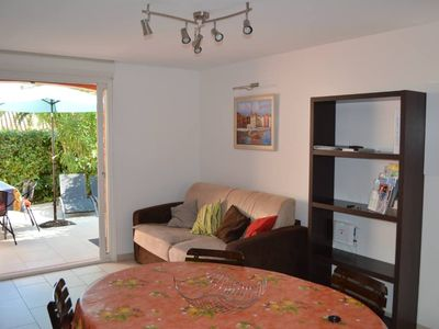 Photo for Sainte Maxime: Mazet, Duplex 6 people, small garden, 200 m sand beach