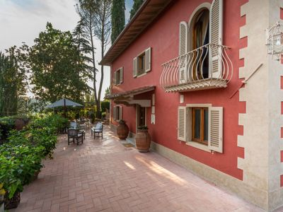 Photo for 4 bedroom Villa, sleeps 10 in Dicomano with Pool, Air Con and WiFi