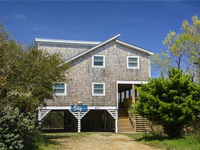 Photo for The Salty Unicorn: Oceanside, comfy 3 bedroom home only 500 feet from the beach.