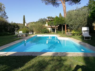 Photo for La Geppa Villa, with private pool, sun deck, and garden in Tuscany