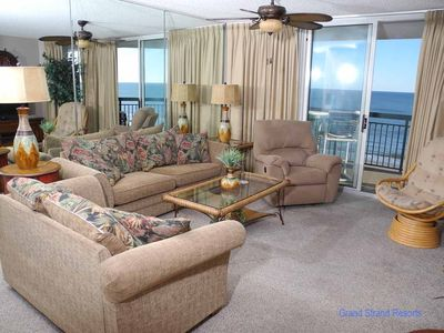 Photo for North Shore Villas 801! 4BR Oceanfront Condo! Newly Renovated! Book now for best rates!