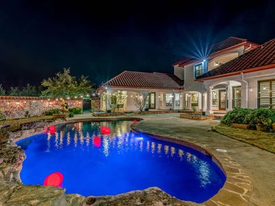 Photo for ★Hill Country Mansion l Venue l Pool l Sleep 36★