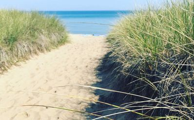 Photo for Cape Cod Beach house, Indiana Dunes Lakeshore, 1 block to beach, Family-friendly