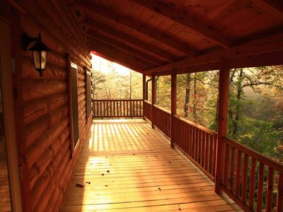 Photo for Lakefront Mountain Vacation Cabin in the Lake Lure,North Carolina Blue Ridgearea