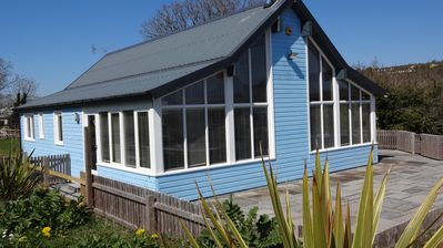 Photo for Beautiful Modern Beachside House, log burner and stunning view! SPRING SPECIALS