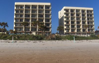 Photo for Ocean Front Two Bedroom Condo in Ormond Beach (A216)