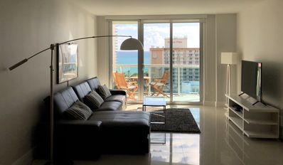 Photo for Wonderful apartment with a view - Ocean Reserve - renovated and modern