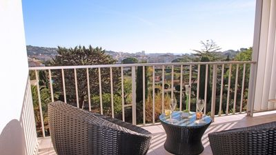Photo for Studio 3 people - Sea view - Swimming pool residence - Tennis residence - Sainte Maxime