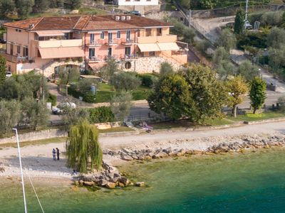 Photo for Residence Villa Margherita Ground Floor Suite With Terrace On The Lake Side