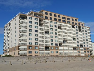 Photo for Sandpiper Dunes 506-Oceanfront 58th St, Free WiFi, Pool, Elev, WD, AC