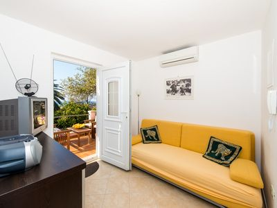 Photo for ROSETA - 1 bedroom apartment with sea view terrace-15 min walk from the Old Town