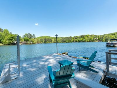 Photo for Lakefront Home 60 Minutes from Atlanta