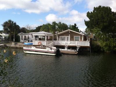 Waterside View of Home