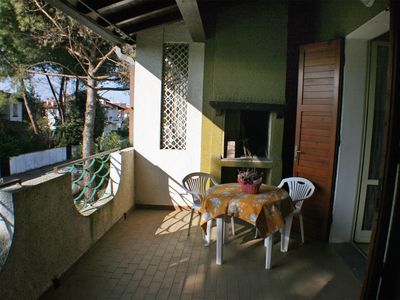 Photo for 1 floor villa with 3 bedrooms and large terrace near the sea