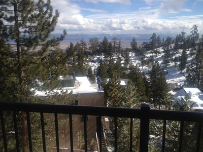 Photo for Beautiful Tahoe Village. Steps to Heavenly Valley Ski Resort!