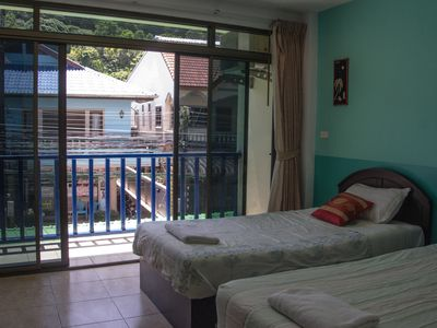 Photo for patong bay guesthouse superior twin room