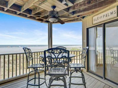 Photo for Direct Beachfront. Incredible Oceanfront Views! Elevator Access.
