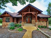 Beautiful views and a top notch cabin feel to the property.