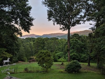 Photo for Twisty Maple is a beautiful, one of a kind property close to Asheville and more.