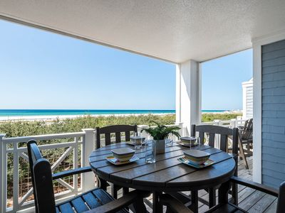Photo for Upscale Condo with GULF VIEWS! Fantastic Porch Space! Community Pool!