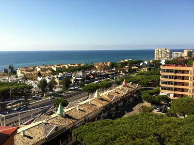 Photo for Apartment with wonderful views in Calahonda near the beach