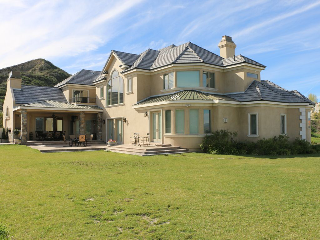 Beautiful french country manor estate mint canyon for French country manor